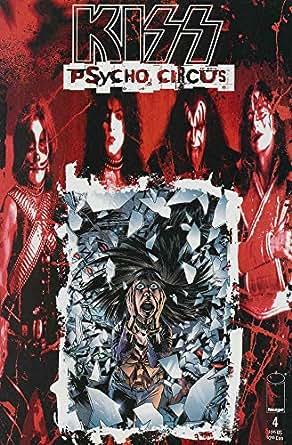 Kiss psycho circus comic book
