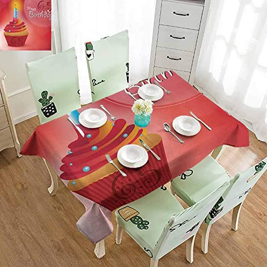 FreeKite Mantel de pícnic para 60 cumpleaños, diseño de ...