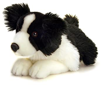 Keel Toys SD4259 - Perro border collie de peluche (35 cm)