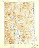 New Hampshire Maps | 1894 North Conway, NH USGS Historical Topographic Map | 18in x 24in