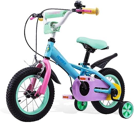 ZMDZA Bicicleta de los niños, 12