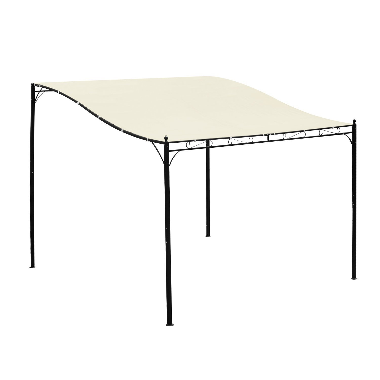 Cream White Outsunny 10/' x 10/' Outdoor Patio Canopy Gazebo