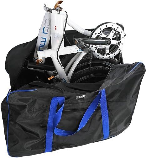 Bolsa de Transporte Bicicleta Maletas de Viaje con Bolsa de Sillín ...
