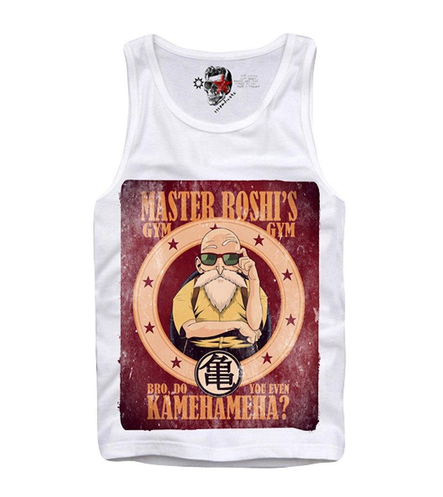 Tank Top Shirt Master Roshi Dragoll Z Bodybuilding S M L 9193
