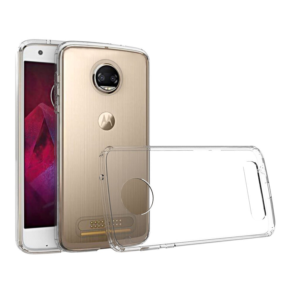 Xiu7 Clear Case for Moto Z2 Force, ultra-slim and lightweight design-Transparent