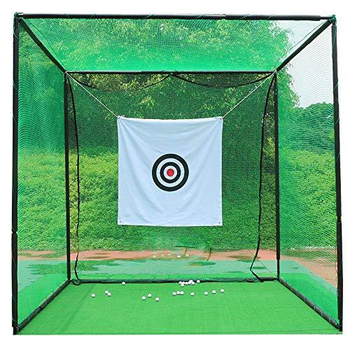 MP スポーツ練習用ネット ゴルフネット 野球 テニス 練習用 3m*3m*3m