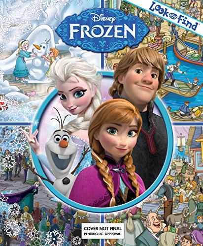 (Disney Frozen - Look and Find - PI Kids)
