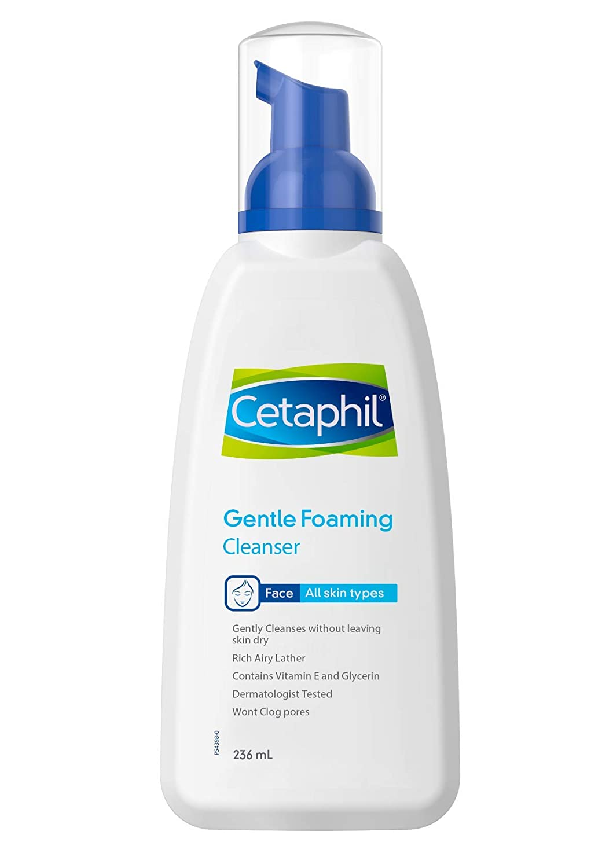 Cetaphil Gentle Foaming Cleanser, 236 ml