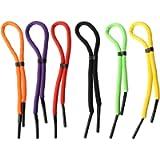 6 Pack Floating Sunglass Straps, Adjustable Eyewear Retainer, Floating Glasses Straps Antislip, Safety Eyeglass Strap…