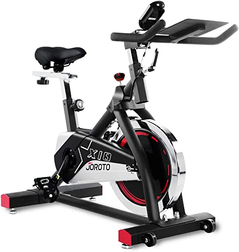 JOROTO Indoor Cycling Bike Stationary – Professional Exercise Bike Stationary Bike for Home Cardio Gym Workout