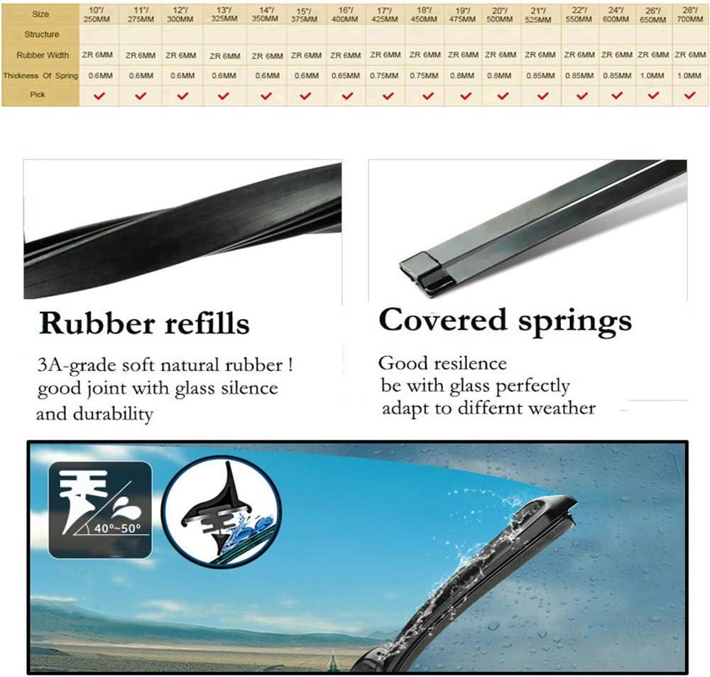 ASDHASXC 10 Rear Wiper Blade and Arm Set,for Mitsubishi RVR ASX Wagon 2010-2017 2016 2015,Windshield Windscreen