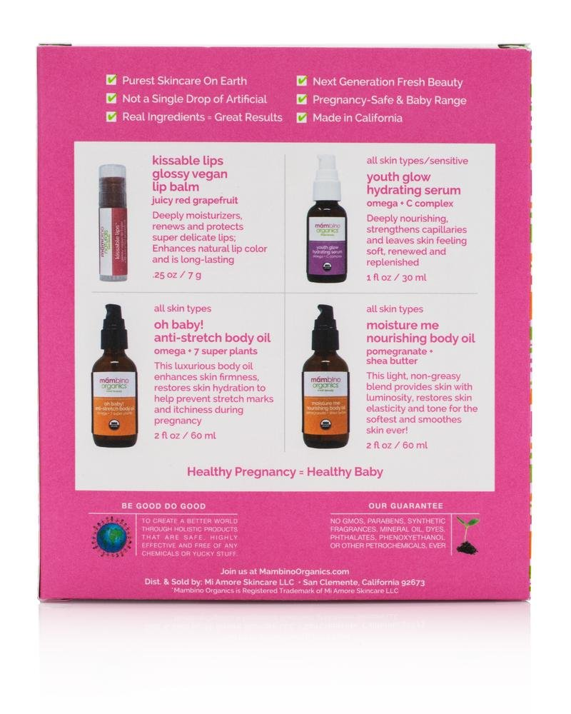 Mambino Organics Bun in the Oven Kit – Best Seller for Moms to Be by Mambino Organics (Image #2)