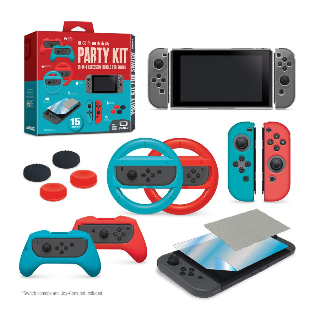 Amazon price history for Armor3 Party Kit for Switch (Black)