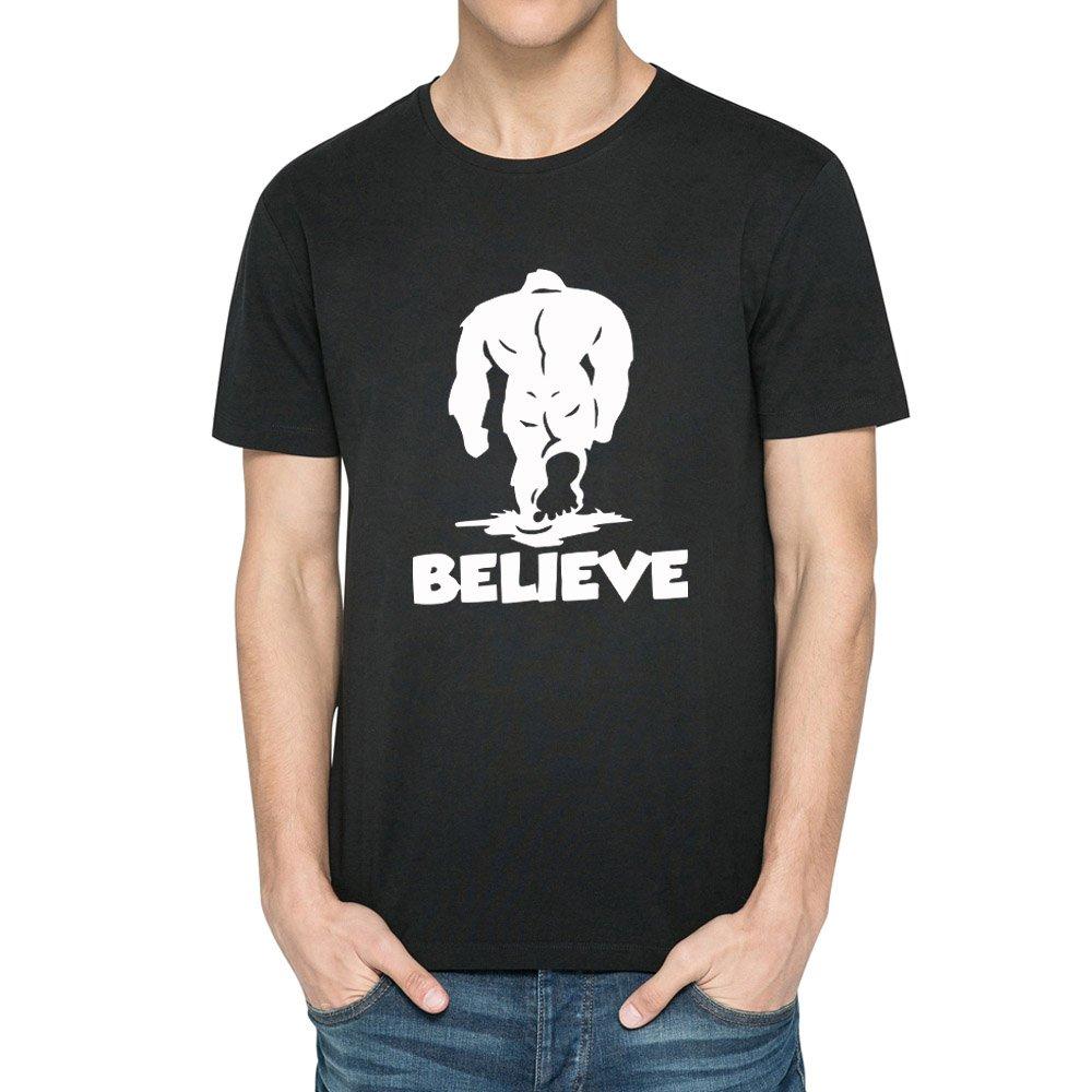 Loo Show S Bealieve Yeti Casual T Shirts Tee