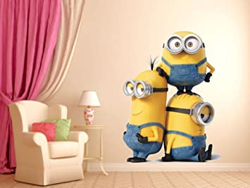 Buy Minions Wall Sticker Online At Low Prices In India Amazonin - Wall decals online india