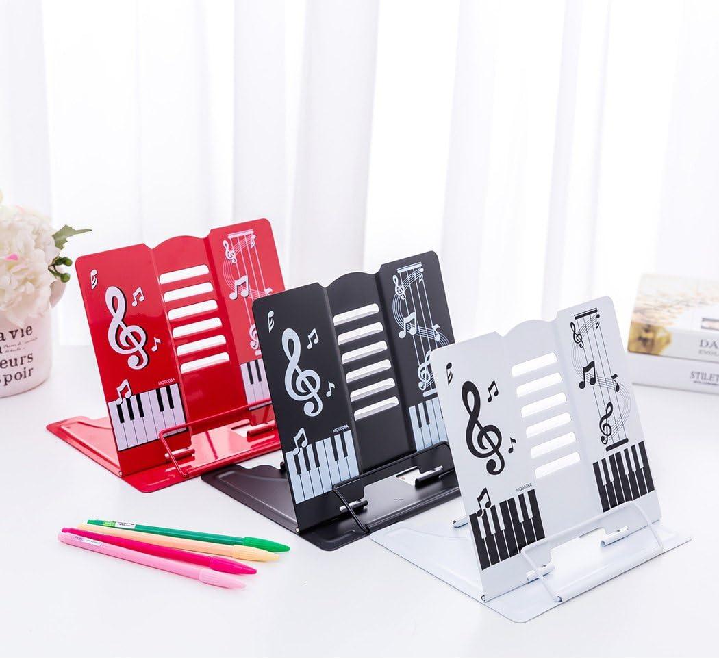 blanco tablatura pintura soporte para documentos soporte de libro libro de cocina libro de texto Sipliv soporte para libros 68 /ángulo ajustable y port/átil tableta de lectura partituras
