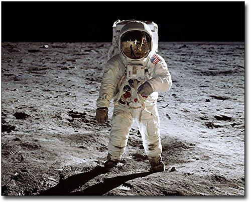 NASA Astronaut Buzz Aldrin EVA Apollo 11 8x10 Silver Halide Photo ()