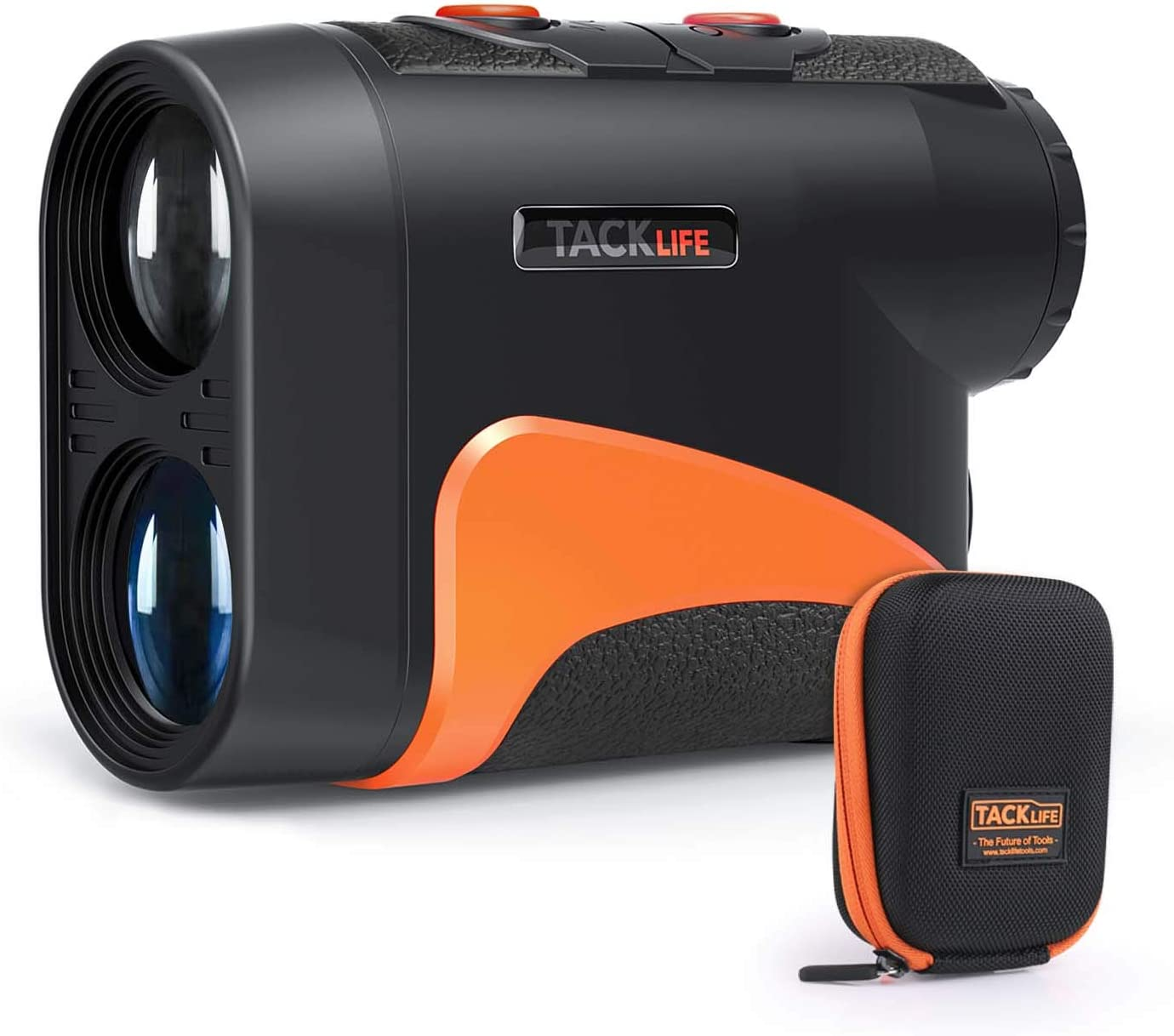 TACKLIFE Golf Rangefinder 600 Y,Adjustable Eyepiece,6X Magnification with Slope/Flag-Lock/Distance/Continuous Measurement,Ideal for Golf, Hunting, Hiking, Outdoor Using- MLR04