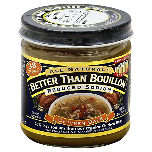 Betterthan Reduced Sodium All Natural Chicken, 8 Ounce - 6 per case. -