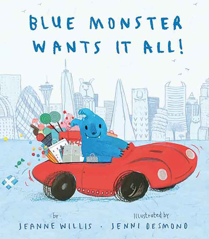 Blue Monster Wants It All! ePub fb2 book