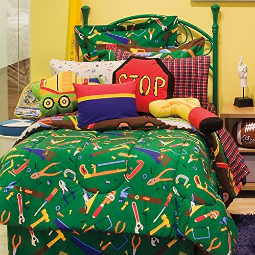 Kidz Mix Construction Zone Bed In A Bag, Twin