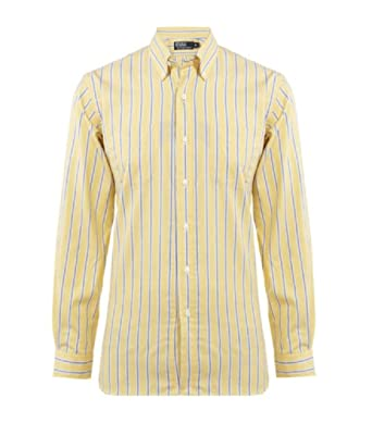 20a8b438 coupon for ralph lauren yellow rainbow striped shirt size s p 8 aff3b bf509