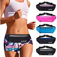 GEARWEAR Running Belt Waist Pack Fanny Bag for iPhone 7 8 Plus X Holder Cell Phone Holder Pouch for Workout Sports…