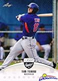 #4: 2016 Leaf Draft #2 Tim Tebow FIRST EVER PRINTED BASEBALL ROOKIE Card in MINT Condition in Ultra Pro Top loader! Limited Edition Baseball Rookie Card of Florida State Star & NY Mets Prospect! Wowzzer!