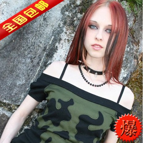 Nakashima Mika Jaese punk tip rivets leather collar for sale  Delivered anywhere in USA