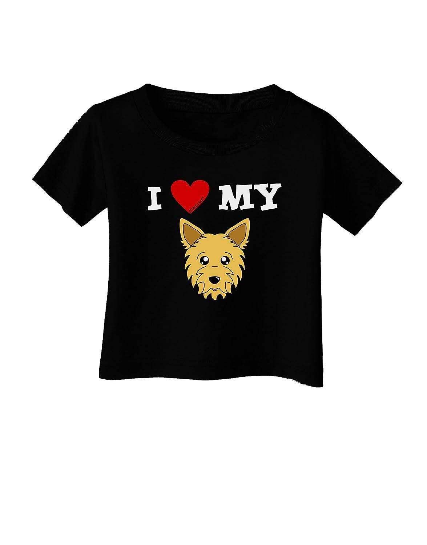 Cute Yorkshire Terrier Yorkie Dog Infant T-Shirt Dark TooLoud I Heart My