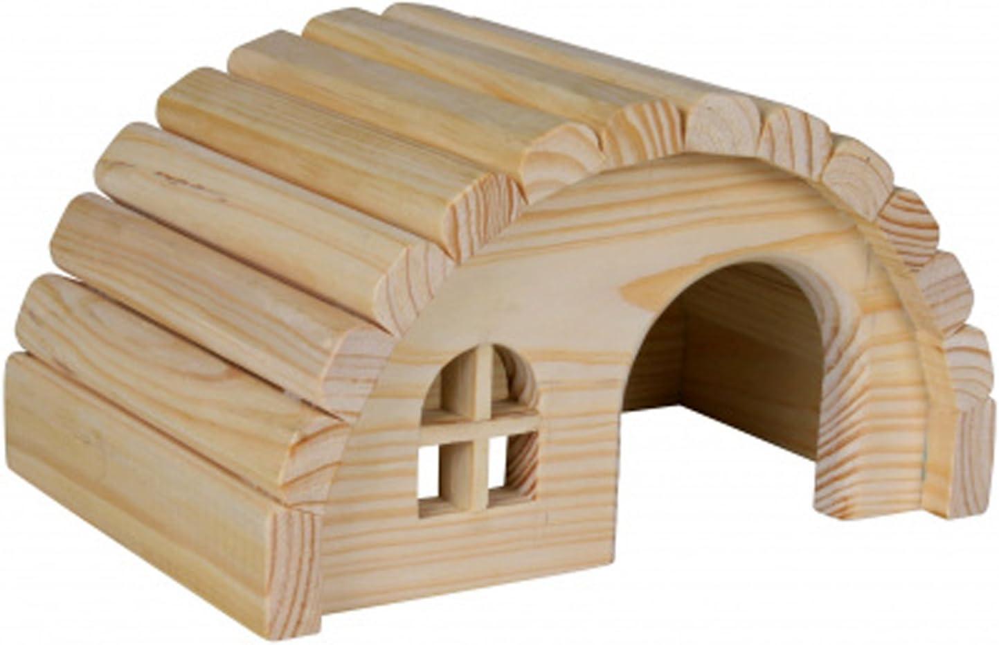 Pet Ting Casa de Madera para Ratones hámsters Gerbil Home 19 x 11 x 13 cm