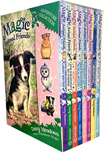 Magic Animal Friends Series 3 and 4 Collection 8 Books Box Set (9 to 16) by Daisy Meadows