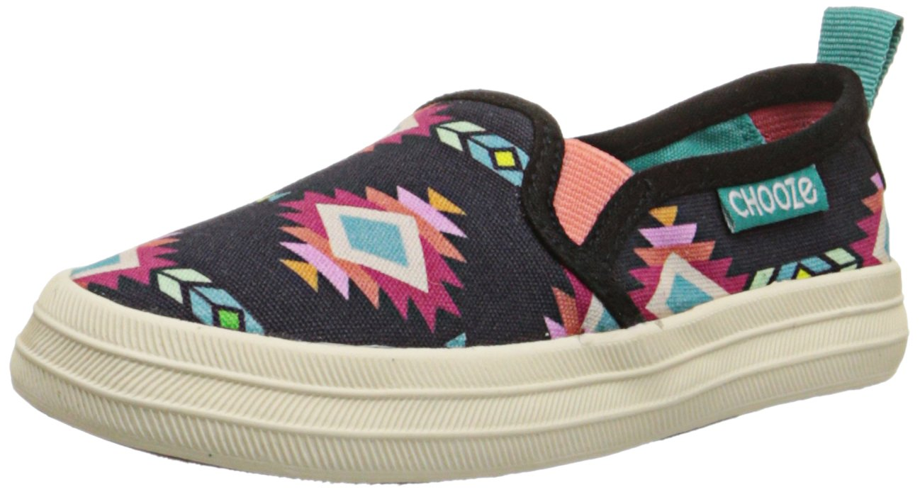 CHOOZE Move Fashion Sneaker (Toddler/Little Kid), Arise Black, 9 M US Toddler