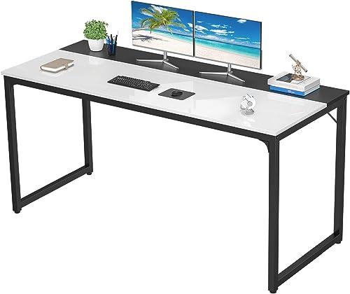 Homfio 55 Inch Computer Desks Home Office Study Writing Desk PC Laptop Table