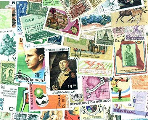 (Worldwide Stamp Collection - 3,000 Different Stamps)