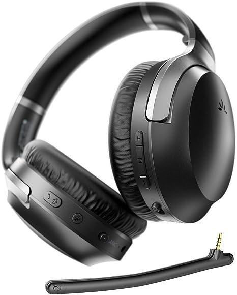 Avantree Aria Pro AptX-HD Bluetooth 5.0 Active Noise Cancelling Headphones