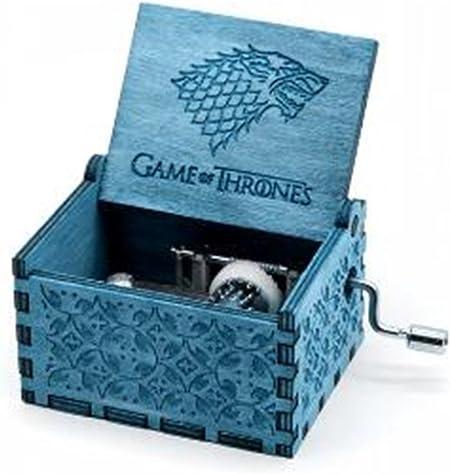 Cuzit - Caja de Música, Diseño de Juego de Tronos, Color Azul: Amazon.es: Hogar