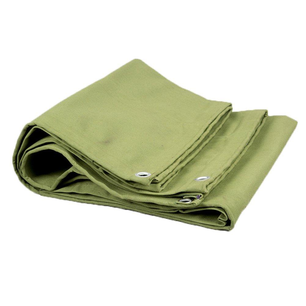 AJZGF Regenschutz Wasserdicht Plane, schützendes Schuppentuch des Holzes, Starke Plane, Wärmedämmung, Militärgrün (Farbe   Grün, größe   2x3M)