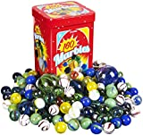 Toys : Kangaroo Marble Set - 160; Marbles Game, in a Tin Box