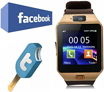 VOSMEP Smartwatch Reloj Inteligente Bluetooth 3.0 Tel¨¦Fono ...
