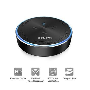... para Softphone conferening 26 ft far-field 360º de reconocimiento de voz Audio pastilla sistema de conferencias teleconferencia: Amazon.es: Electrónica