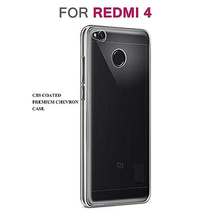 quality design 8a6d9 5c82e Chevron C136 Back Cover Phone Case for Redmi 4 (Transparent)