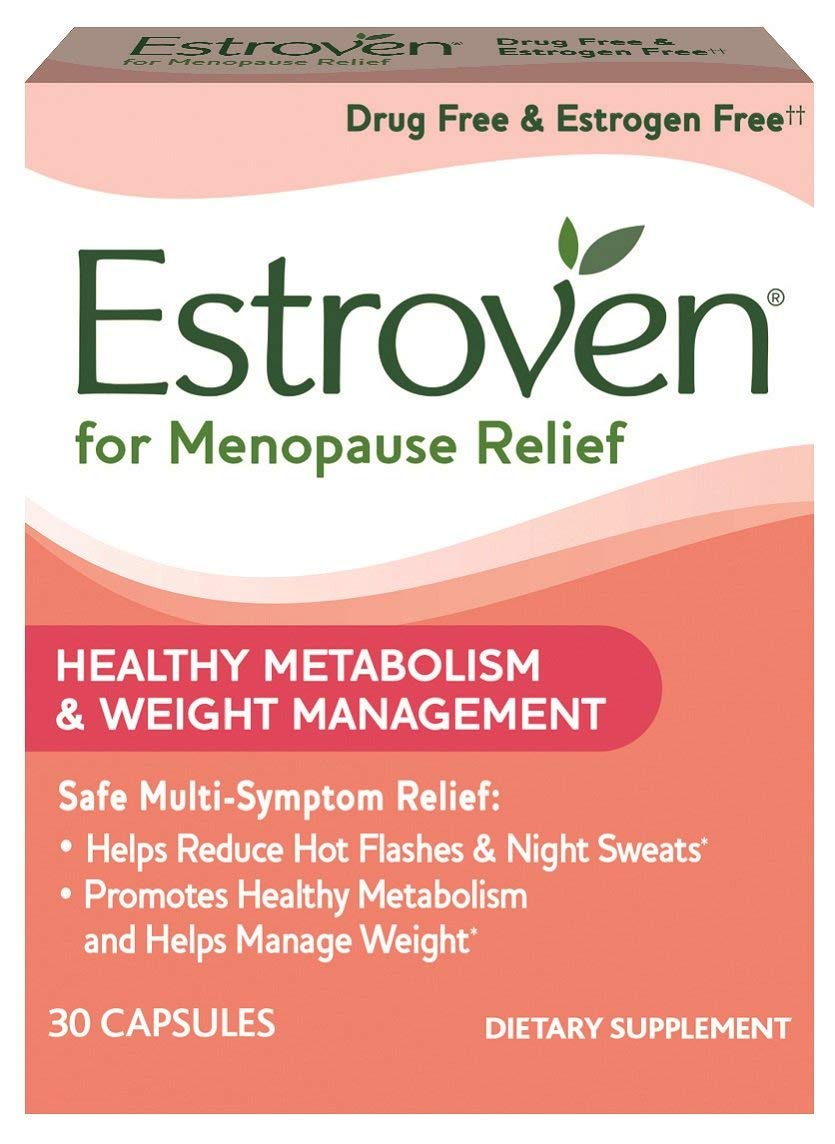Estroven Weight Management, One Capsule Per Day, Multi-Symptom Menopause Relief, Dietary Supplement, 194 Count (194 Count)