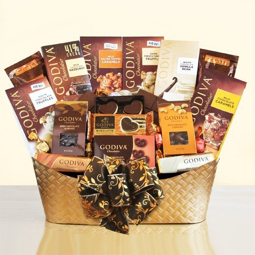 The Ultimate Godiva Chocolate Gift Basket by Gifts to Impress