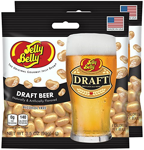 Jelly Belly Draft Beer Jelly Beans, 3.5 oz Bag (Pack of 2)