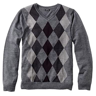 Liz Claiborne Apt 9 Mens Merino Wool Blend Argyle Sweater X-Large ...