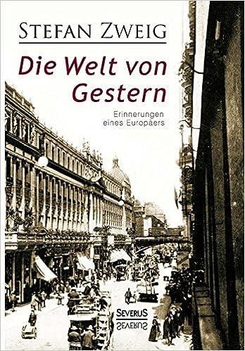 Image result for Die Welt von Gestern