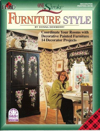 (One Stroke Furniture Style (Decorative Painting--Folk Art, #)