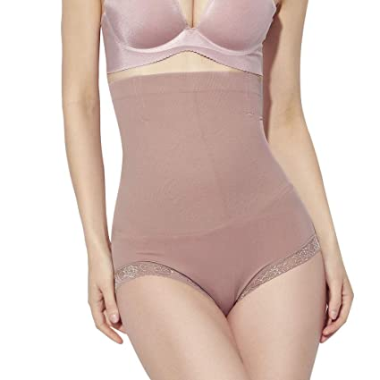 22d962e9d26 Amazon.com  Mbtaua Women Sexy Laces Bottom Body-Shaping Pant Breathable High -Waist Bottom Soft Underwear  Kitchen   Dining