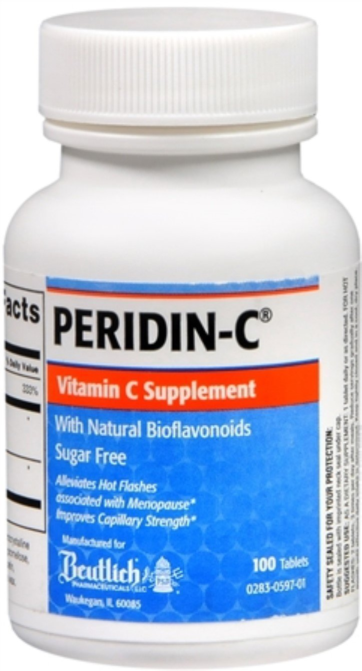 Peridin-C Vitamin C Tablets 100 Tablets (Pack of 2)